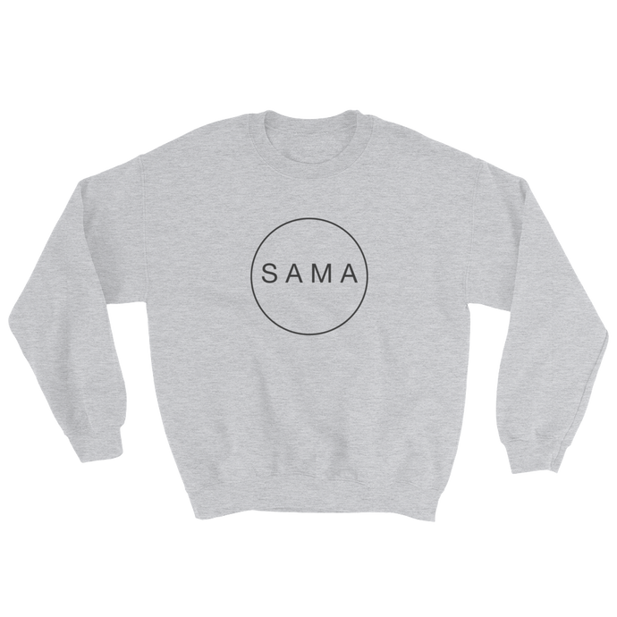 SAMA - Sweatshirt (grey) | LGBTQIA | body positivity | Feminism | SAMA  Apparel