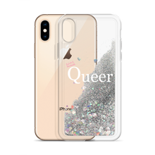 Load image into Gallery viewer, QUEER Glitter iPhone Case