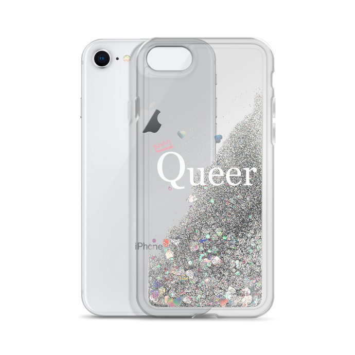 QUEER Glitter iPhone Case