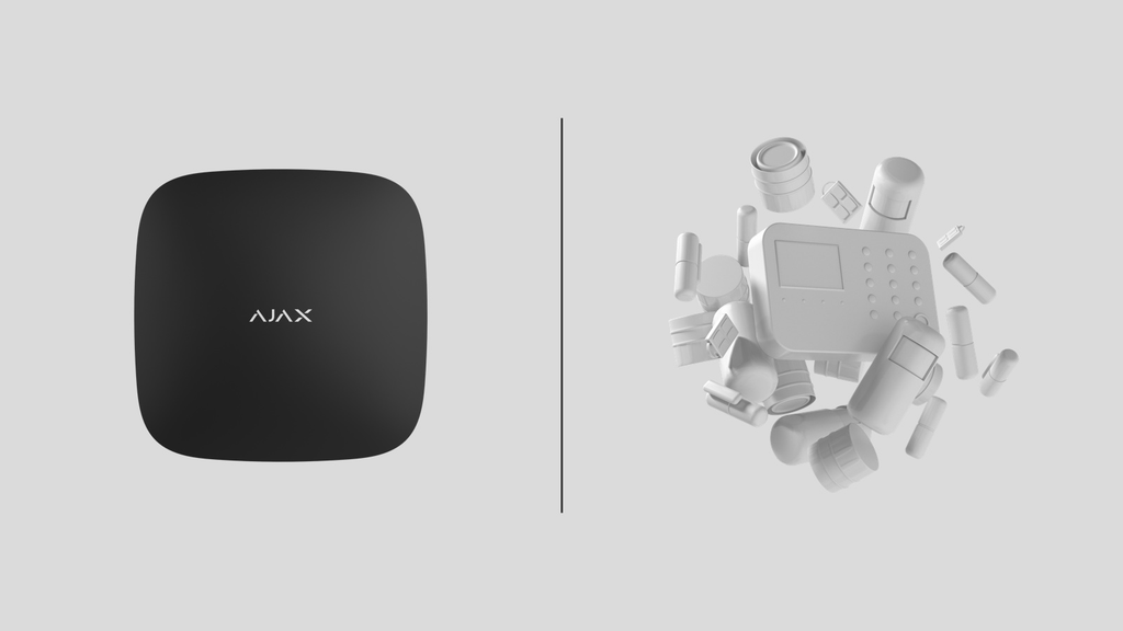 Difference between Ajax and normal alarm system