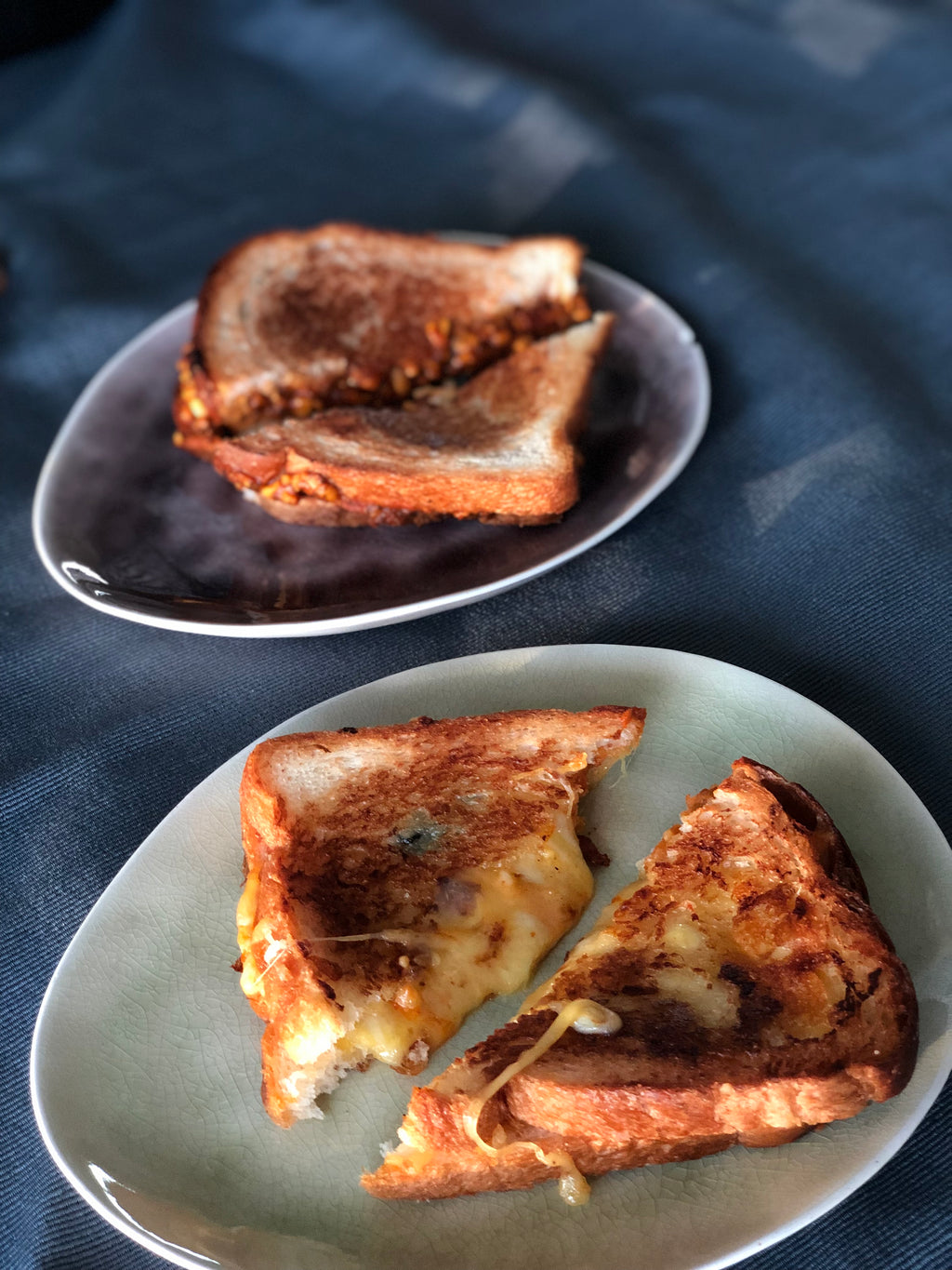 Gourmet grilled cheese sandwiches (x15)