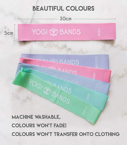 Yogi Resistance Bands by Absolute Zen