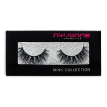 "Load image into Gallery viewer, ""Staged"" 3D Mink Eyelashes - Nyvonne Cosmetics"