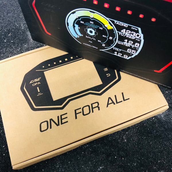 【熱賣】One for all Car Display
