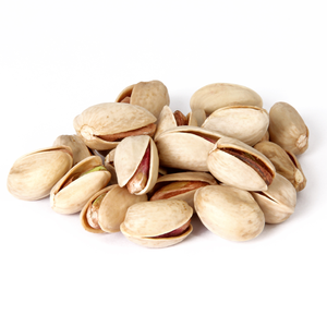 Pistachios with shells, natural