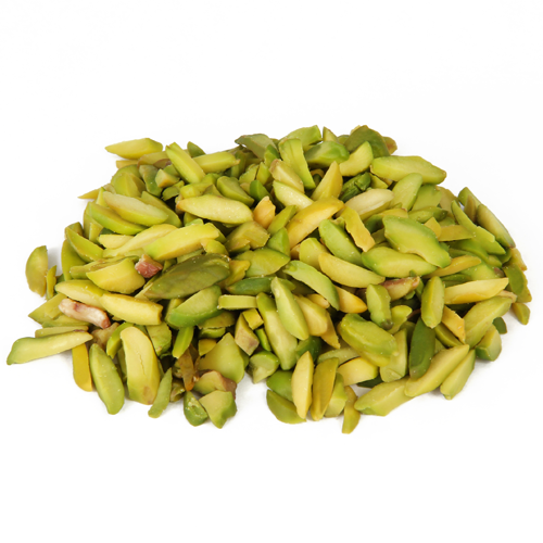 Sliced pistachios