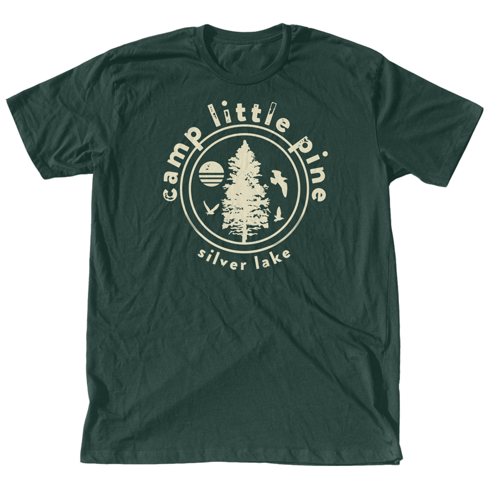 camp little pine unisex tee