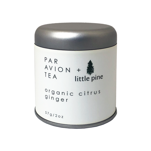 little pine organic ginger citrus tea