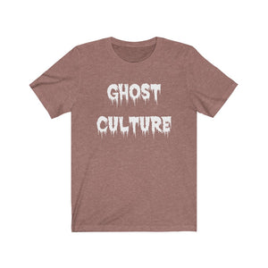 Adult Unisex GHOST CULTURE Jersey T Shirt