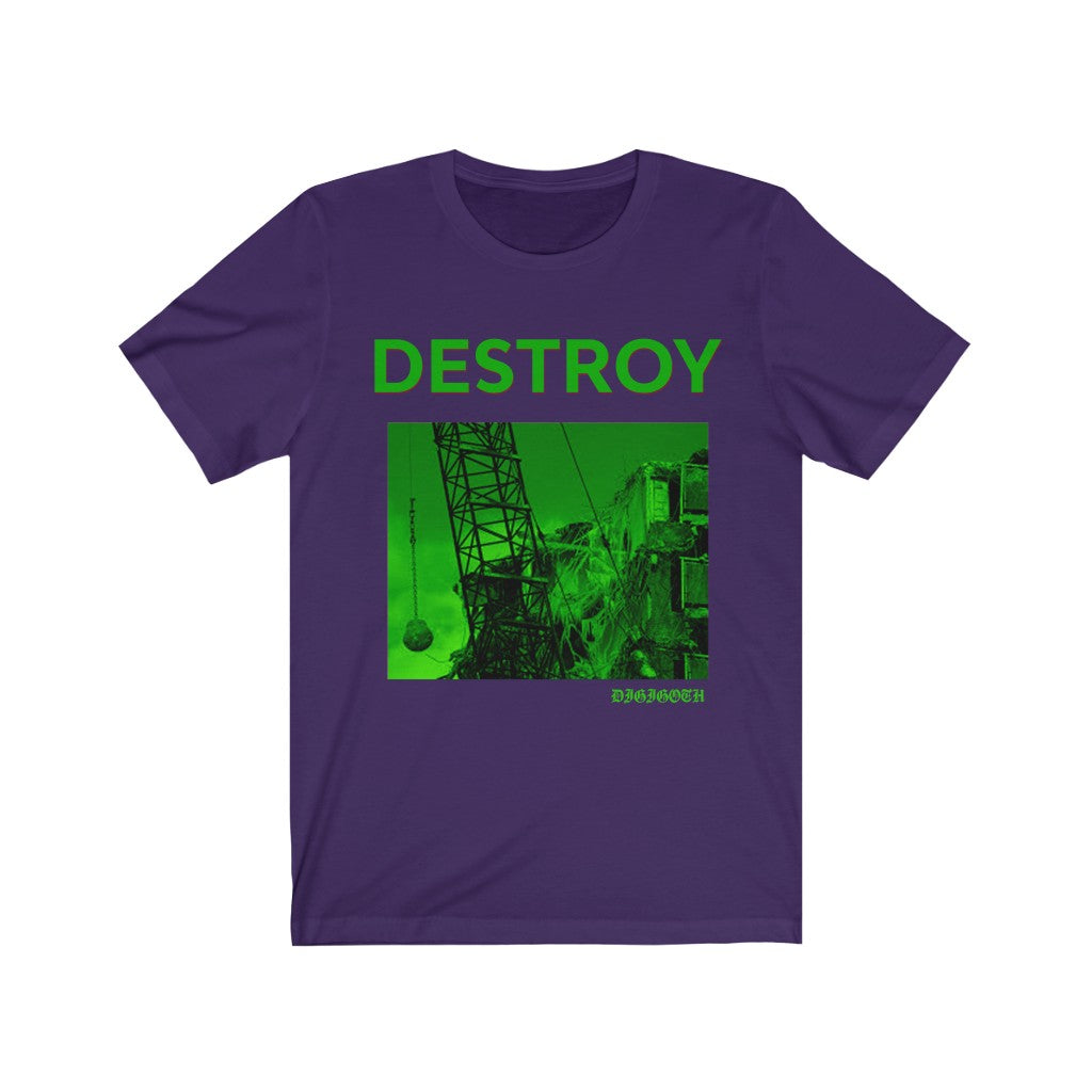 Adult Unisex Destroy T Shirt