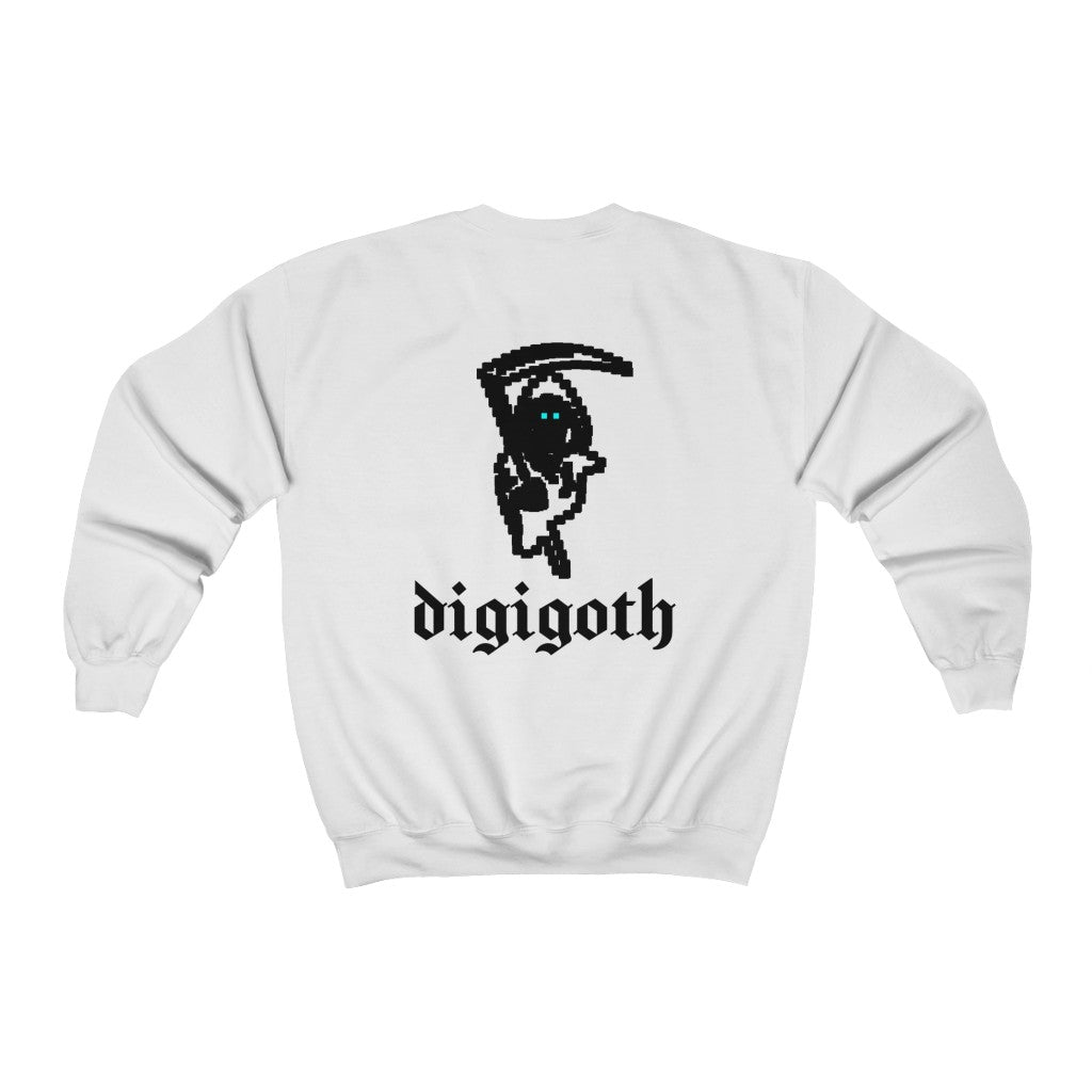 Adult Unisex Minigoth Front and Back Sweatshirt
