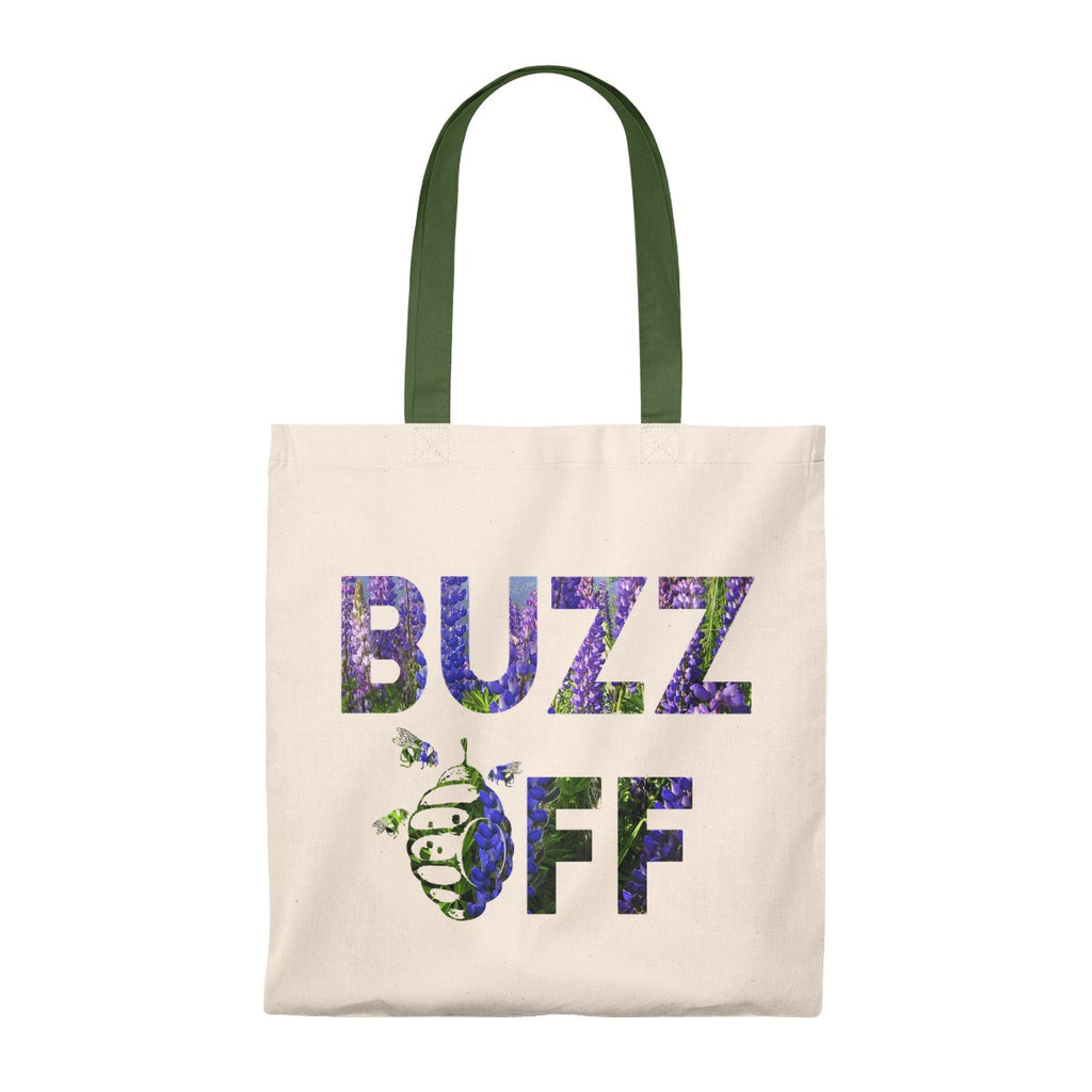 BUZZ OFF LUPINE Tote Bag - Vintage