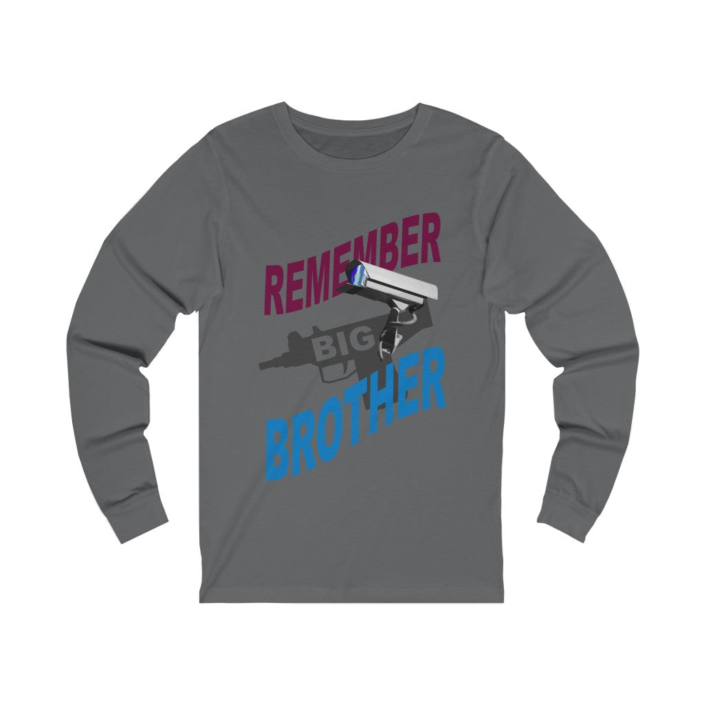 Adult Unisex BIG BROTHER Long Sleeve