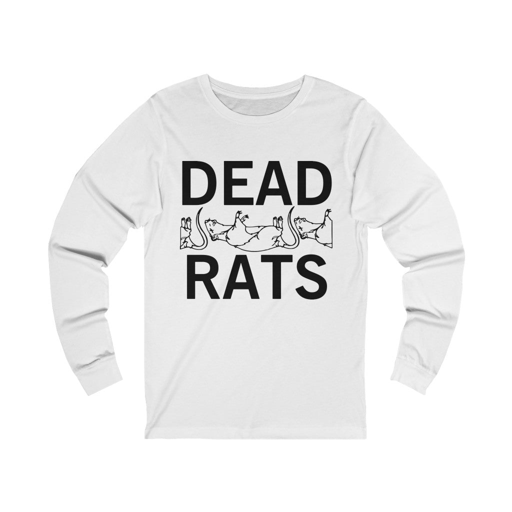 Adult Unisex DEAD RATS Long Sleeve