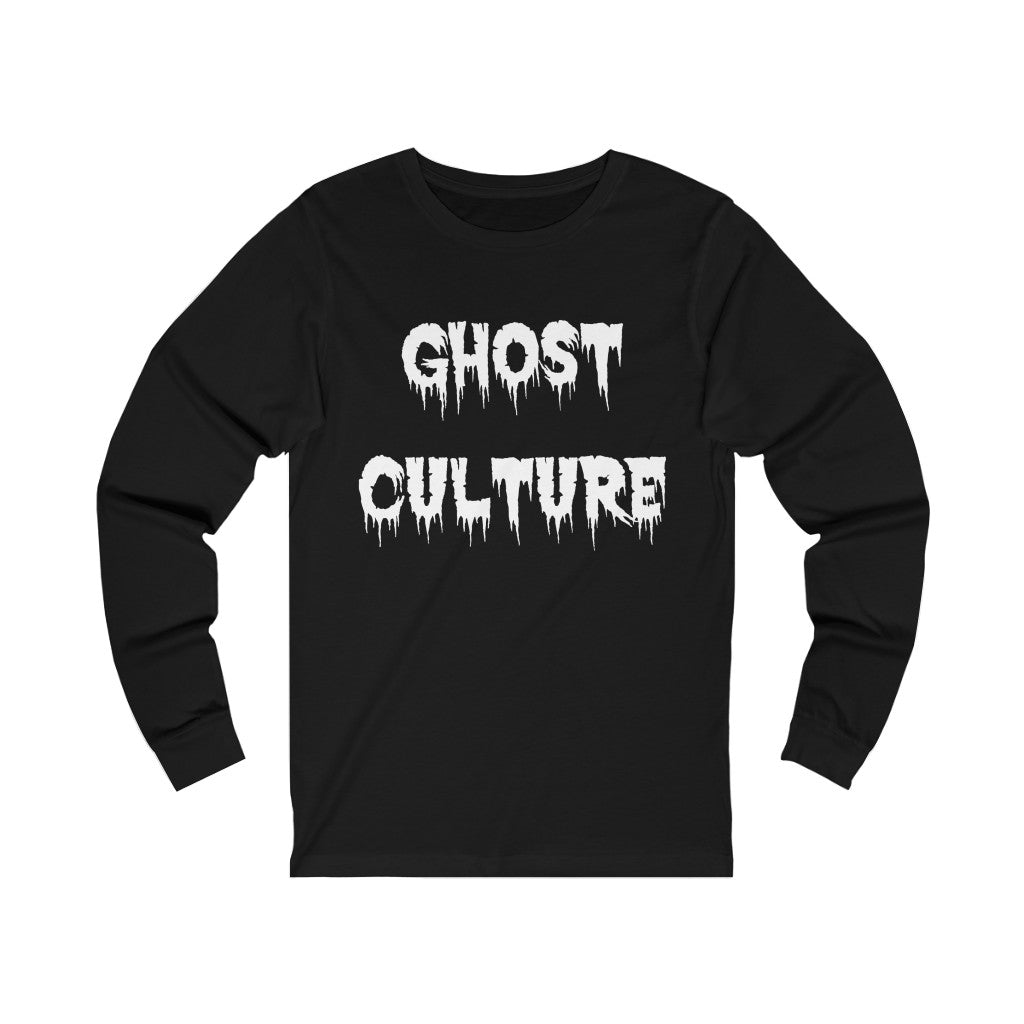 Adult Unisex GHOST CULTURE Long Sleeve
