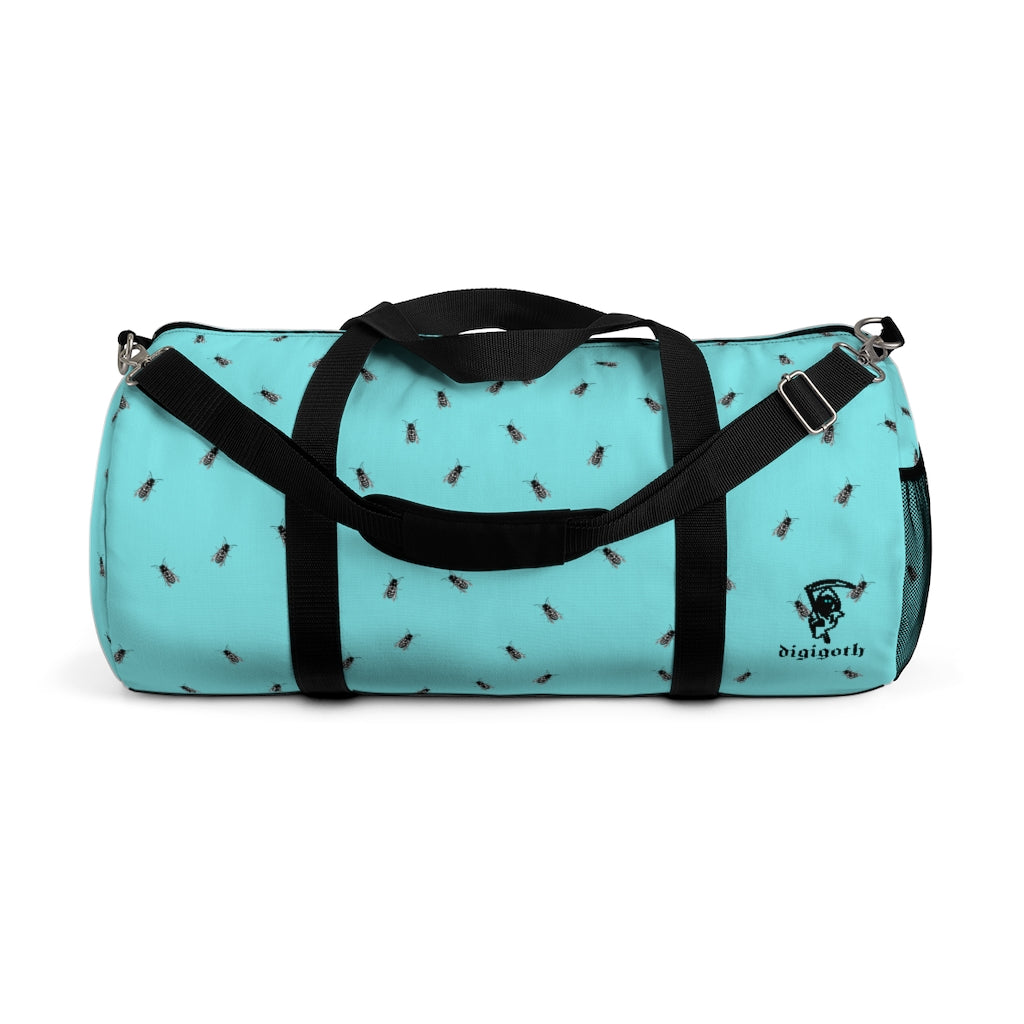 Adult Duffel Bag Sea With Flies
