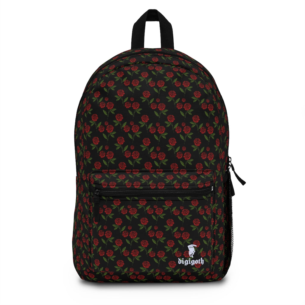 Roses Are Red Full Size Backpack (Made in USA)