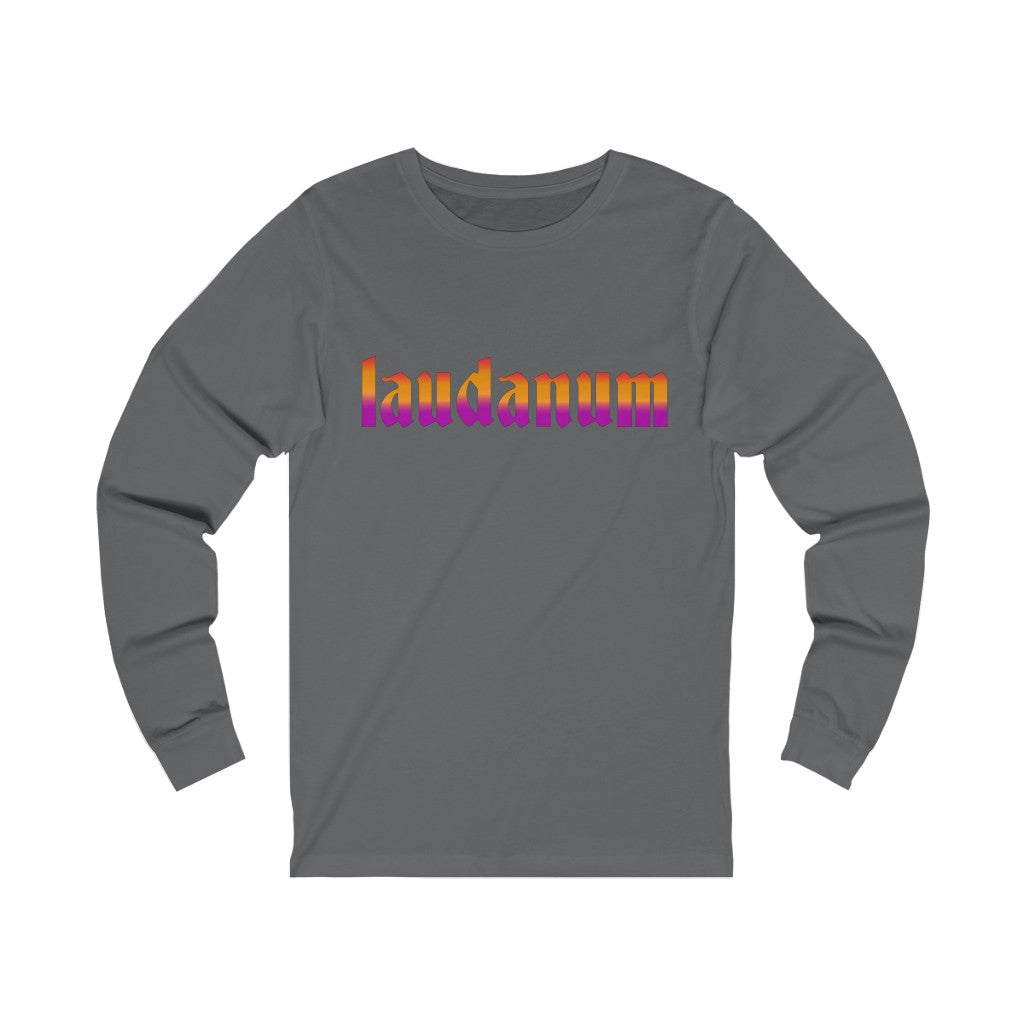 Adult Unisex LAUDANUM Long Sleeve