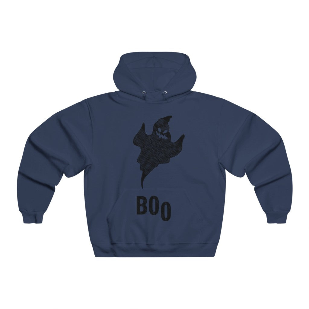 Adult Men's BOo Ghost Hoodie