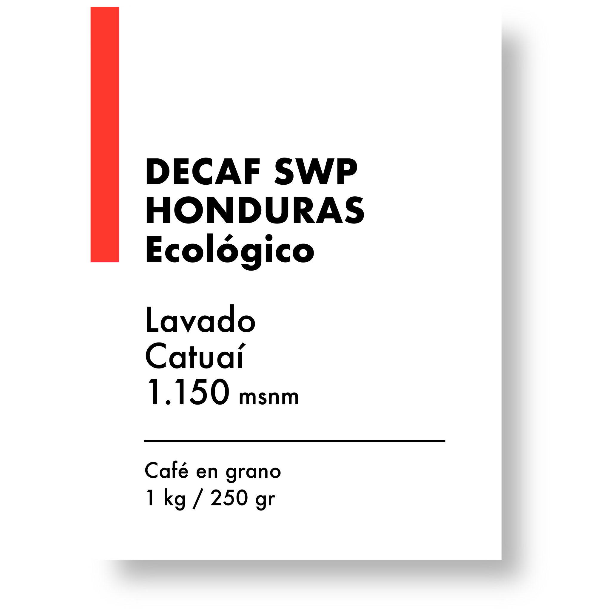 DECAF SWISS WATER PROCESS