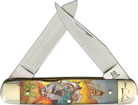 Gene Autry Silverscreen Pocketknife