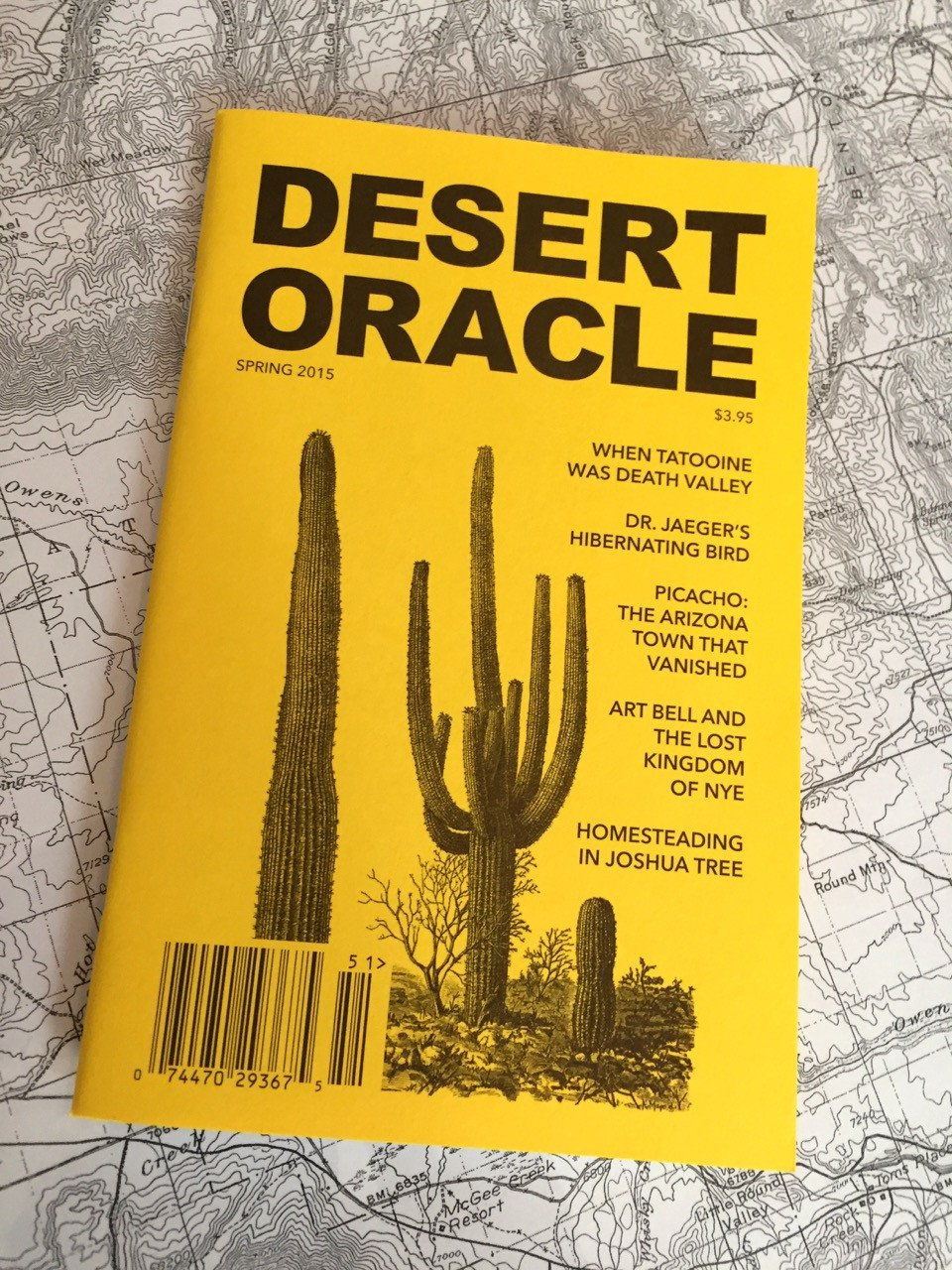 Desert Oracle #1