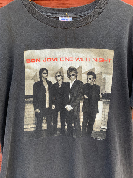 Vintage Bon Jovi Shirt One Wild Night Tour