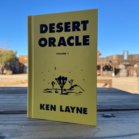 Desert Oracle Hard Cover Book