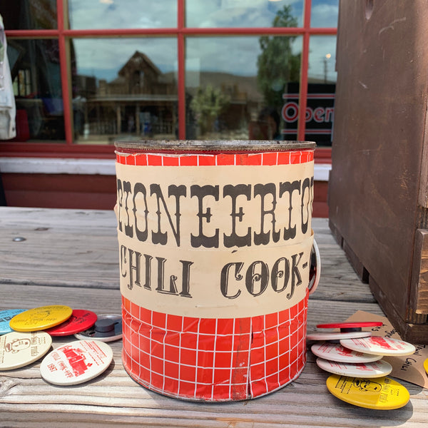 Vintage Pioneertown Chili Cook-Off Badge