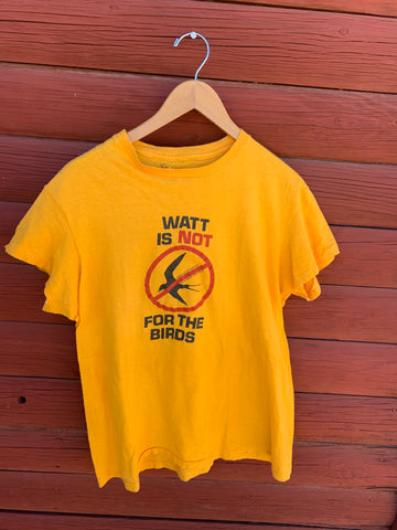 Vintage Watt is Not for the Birds T-shirt