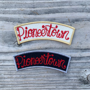 Pioneertown Chainstitched Patch