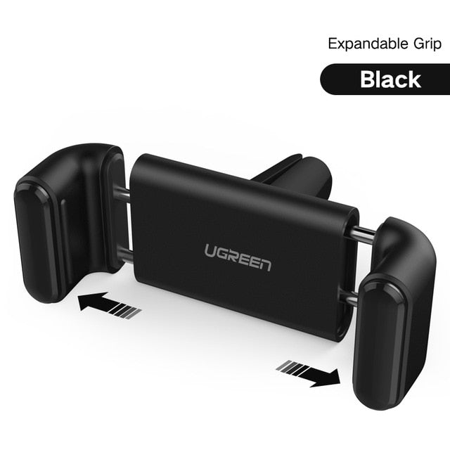 Ugreen Car Phone Holder for iPhone XS Max X Samsung S8 Air Vent Mount Car Holder for Phone in Car GPS Mobile Phone Holder Stand