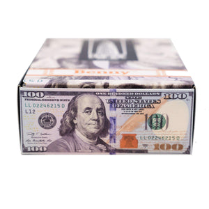 BENNY™ Box | $100 Bill Rolling Papers