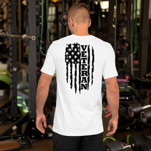 Short-Sleeve Unisex Veteran T-Shirt