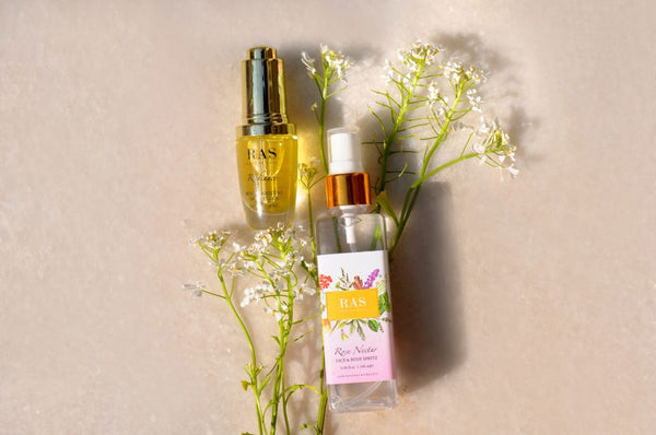 How to use nourishing face oils with makeup (or without)