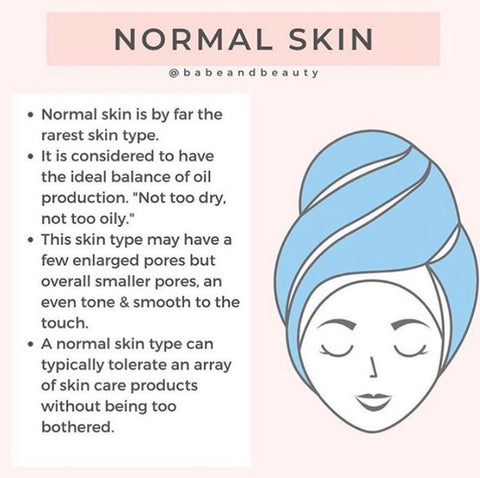 tips for normal skin types