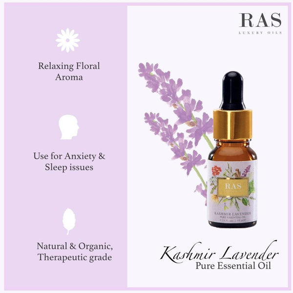 Kashmir Lavender Pure Essential Oil