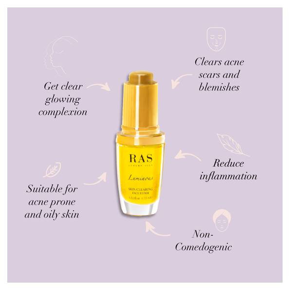 Clear skin duo set for oily acne prone skin