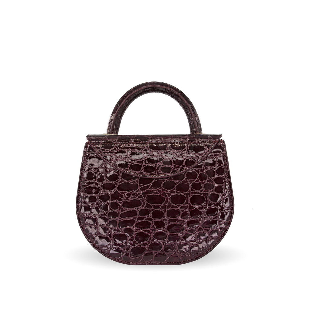 Clem Croco bordeaux dos