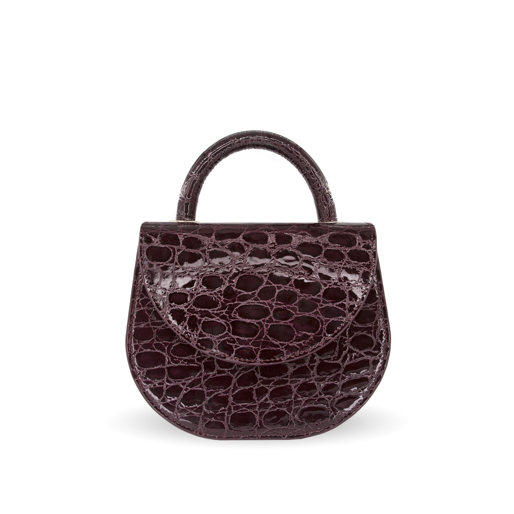 Clem Croco bordeaux face