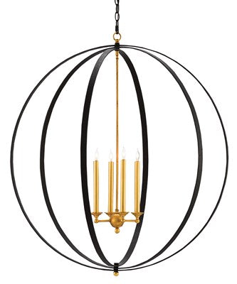 Black and Gold Chandelier