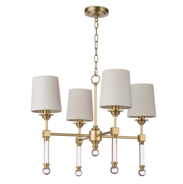 Crystal Tail Chandelier Small