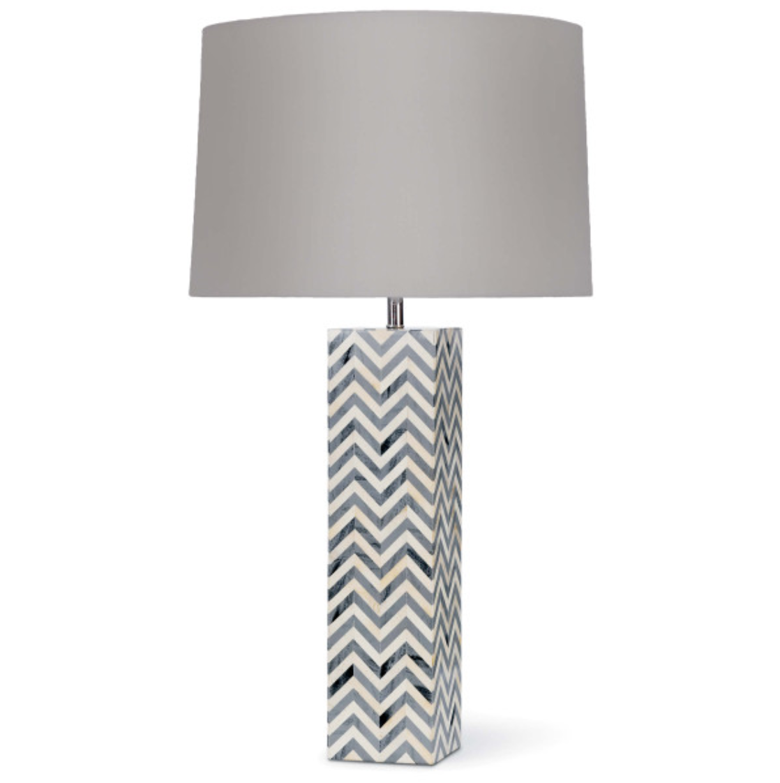 Chevron Table Lamp