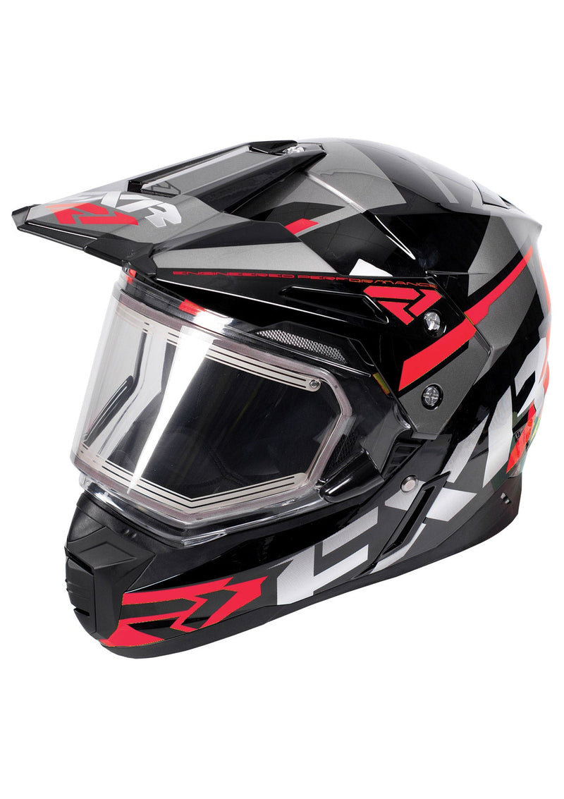 FX-1 Team Helmet W/ Elec Shield 18