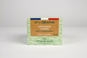 Kit de Fabrication - Gommage Corps