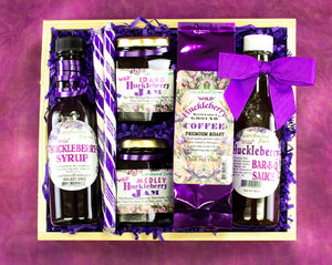 Huckleberry Lover's Wild Huckleberry Favorites Gift Basket