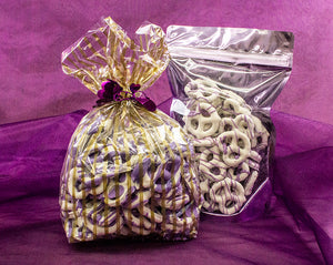 Divine Chocolate Covered Pretzels with Huckleberry Drizzle - A Glorious Delight!