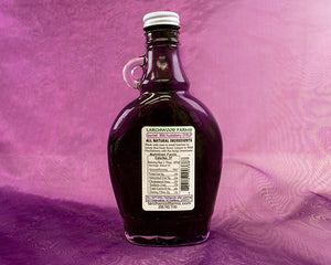 Huckleberry syrup nutrition information.