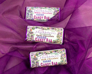 Mouth watering huckleberry fudge and divine chocolate make this a true delicacy!