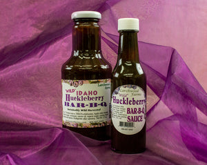 Become a barbeque legend with the best huckleberry barbeque sauce, hands down!